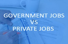 Jobs in Government or Private Sectors