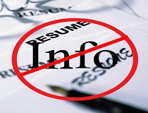 Things You Should Not Include In Resume